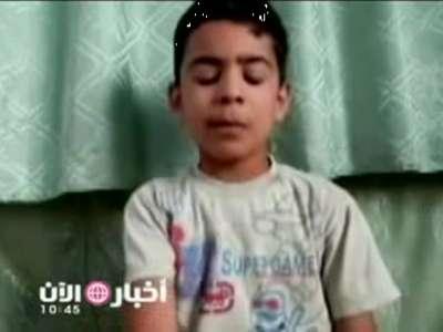 طفل 11 عاماً تظاهر بالموت يروي كيف قامت قوات الأسد بتصفية