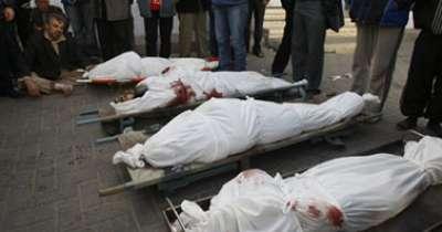 الشبكة السورية: 65 قتيلا جراء قصف النظام لمدن بدمشق