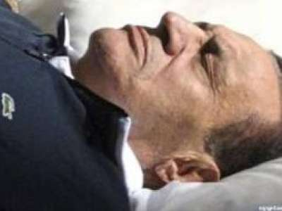 وكالة الانباء الرسمية المصرية تؤكد وفاة مبارك اكلينيكيا