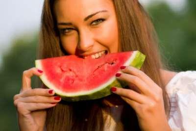 البطيخ يفيد  في فقد الوزن