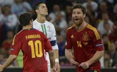 إسبانيا تقهر البرتغال وتصعد لنهائى اليورو