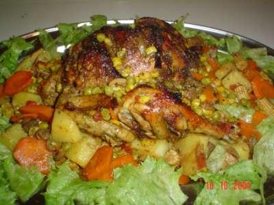 الرشتا المفورة بالدجاج من المطبخ التونسي