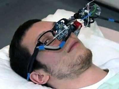 ابتكار نظارة تسمح للمعاقين بالتحكم في الكمبيوتر