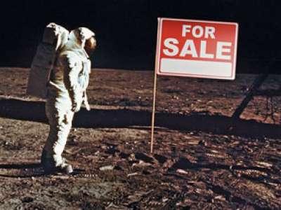 مليونا شخص من 172 بلداً في العالم يتملكون أراض على القمر