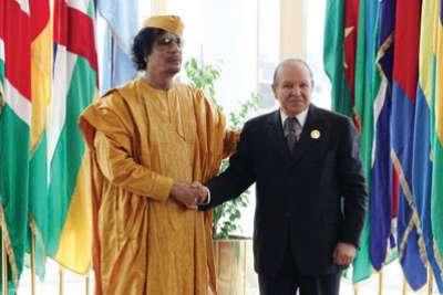 ويكيليكس: القذافى طلب اللجوء إلى الجزائر...وبوتفليقة رفض الرد عليه