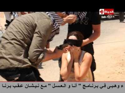 """سيرين عبد النور و """"رامز ثعلب الصحراء"""".. شاهد فيديو الحلقة كاملة"""
