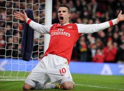 """مانشستر يونايتد يتقدم بعرض رسمي لضم الهولندي """"فان بيرسي"""" من آرسنال الإنجليزي"""