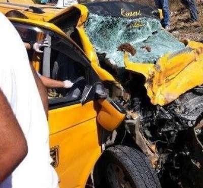 """بالاسماء .. 11 حالة وفاة في حادث السير الذي وقعَ على طريق نابلس طولكرم  .. صور مروعة""""+18"""""""
