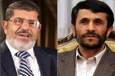 لقطات من قمة عدم الانحياز : مرسي عانق نجاد 5 مرات