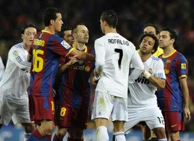 برشلونة وريال مدريد يتسيدان الشبكات الاجتماعية