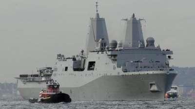 سفن حربية من كل انحاء العالم في الخليج والعين على طهران