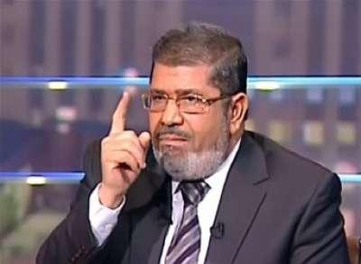 مرسي: سنحترم كامب ديفيد ساعدت