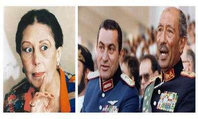 رقية السادات: قرار إقالة مبارك كان بحقيبة السادات التي اختفت يوم مقتله