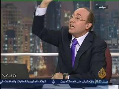 """بالفيديو..فيصل القاسم يوبخ ضيوفه:"""" الحق مش عليكم الحق على اللي جابكم """""""
