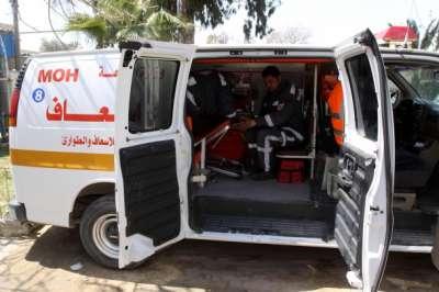 وفاة طفلة تحت عجلات شاحنة في غزة