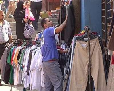 54f5c9db6 ماركات ملابس عالمية تنتشر فيها .. الفقر يجبر المواطنين على اختيار اسواق  البالة في غزة