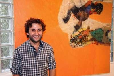 افتتاح معرض مساحات للفنان السوري عادل داوود في مركز رؤى32 للفنون