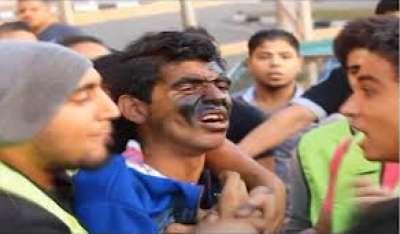بالفيديو: استمرار التحرش العيد ..وعلقة