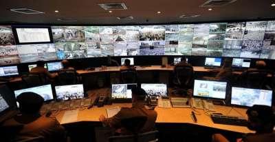 شاهد بالصور كيف تتم مراقبة موسم الحج من خلال 3000 كاميرا