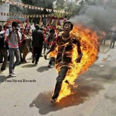 لماذا يحرق المسلمين في بورما ؟  اقرأ القصة!