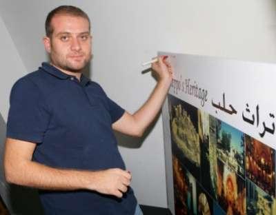 الإعلاميان زينة فيّاض ومالك الشريف ينضمان إلى حملة أنقذوا تراث حلب للفنان غبريال عبد النور