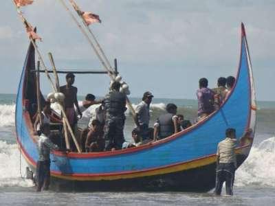 غرق 50 مسلماً من الروهينجا في خليج البنغال