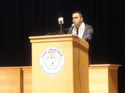 مجلس الطلبة في جامعة خضوري يحيي ذكرى إستشهاد الرئيس ياسر عرفات