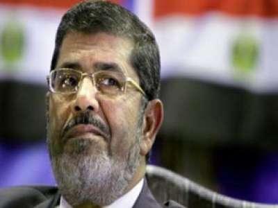 صورة الرئيس المصري الجديد محمد مرسي