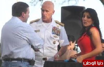 من هي اللبنانية التي اطاحت باكبر مسؤول امني في العالم ومرشح قوات الناتو؟ ..صور