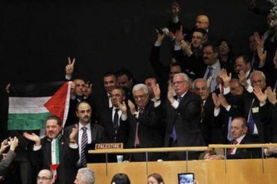 لحظات يسجلها التاريخ:أطلقها عرفات..وأعلنها عباس .. مبــروك دولة فلسطين