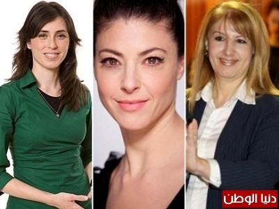 شاهد بالصور .. الجميلات يتصدرن قوائم الانتخابات الإسرائيلية