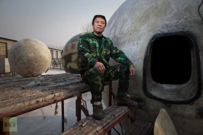 """بالصور والفيديو.. اختراع صيني """"للنجاة"""" من نهاية العالم!"""