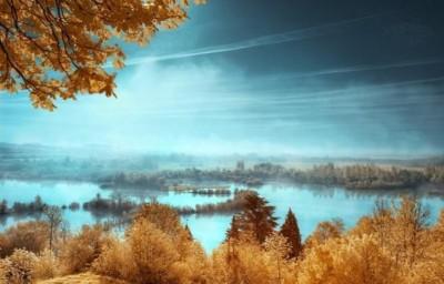 خلابة الريف الفرنسى تشبه بلاد العجائب الملونة 9998359168.jpg