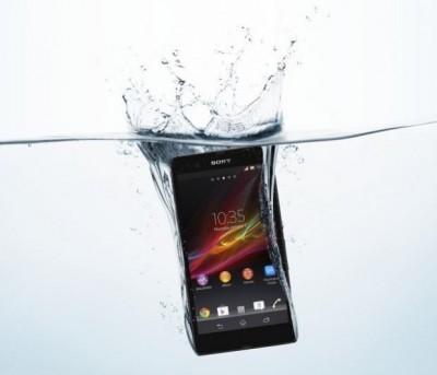 شركة سوني تصنع أول هاتف محمول مضاد للمياه