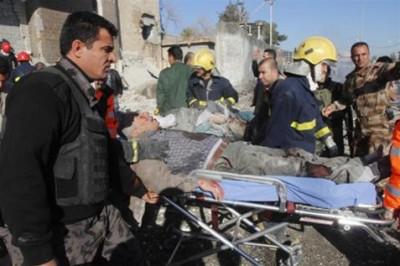 115 قتيل في تفجير انتحاري في مديرية شرطة محافظة كركوك