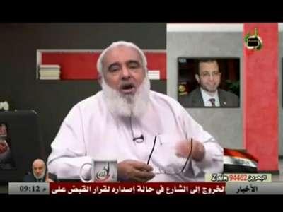 """الشيخ أبو إسلام: معظم الذين تم إغتصابهن في ميدان التحرير """"صليبيات"""" والباقي """"أرامل"""""""