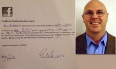 أب يدفع لابنته 200 $ مقابل أن تلغي حسابها عالفيس بوك