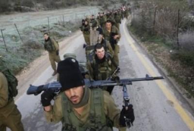 تدريبات للجيش الإسرائيلي للتوغل في سوريا وقلق من انسحاب الجيش السوري من الحدود لتوريط اسرائيل مع الجيش الحر