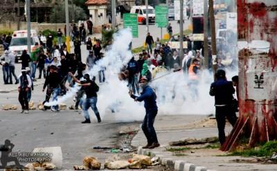 بالصور.. الانتفاضة الثالثة في مراحلها الاخيرة: الضفة تلتهب في هذه الاثناء مسيرات وإصابات في كل مكان