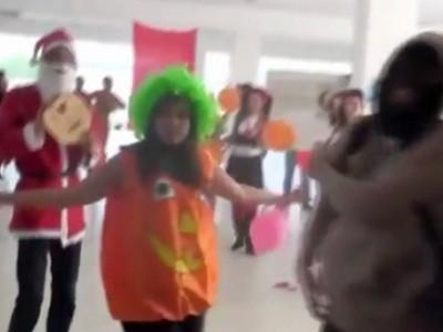 """فيديو:شباب تونس يتحدون حركة النهضة برقصة """"خلّيك من الأفغان"""""""