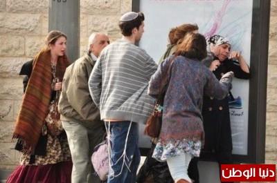 صور توضح السلوك العنصري الصهيوني ضد العرب داخل الاراضي الفلسطينية 48