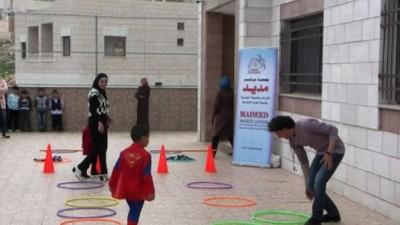 مركز مديد للإرشاد والصحة النفسية يُنفذ مهرجان في مدرسة وروضة قطر الندى في مدينة نابلس
