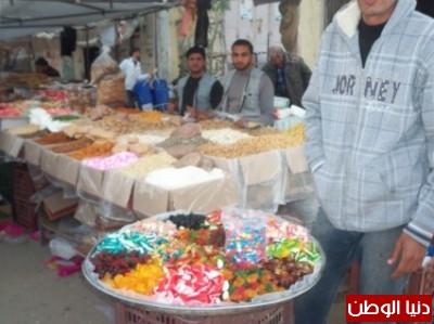 بالصور.. سوق السبت .. أقدم الأسواق الشعبية واكبرها مساحة ومن أهم معالم مدينة رفح