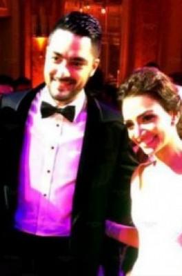 الصور الأولى من زفاف حسن الشافعي
