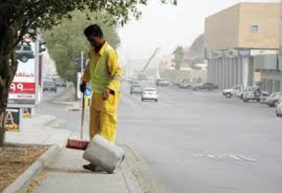 سعودي يقتل عامل نظافة