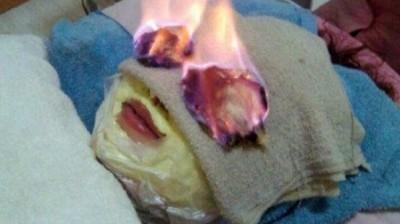 """استخدام """"النار"""" أحدث صيحات التجميل في الصين"""