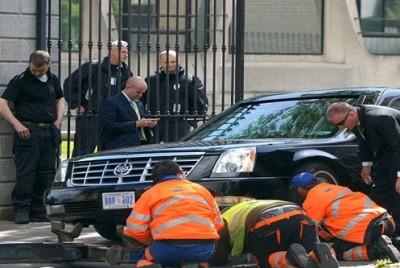 ليموزين أوباما تتعطل والسيارة البديلة من الأردن