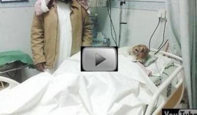 بالفيديو : رجل يحتضر ويرى الجنة ويصفها وهو فى سكرات الموت