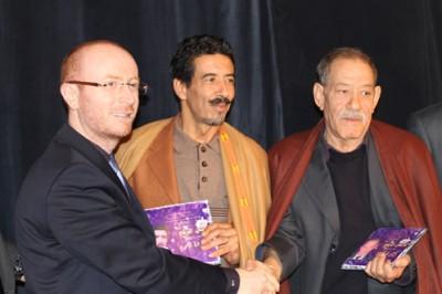 مهرجان المسرح في الجزائر يكرم الفنان السوري مصطفى الخاني