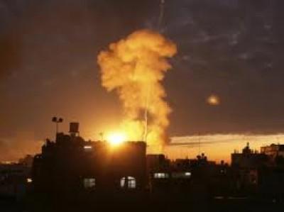 واضح للهدنة.. الطيران الحربي الإسرائيلي 9998374211.jpg